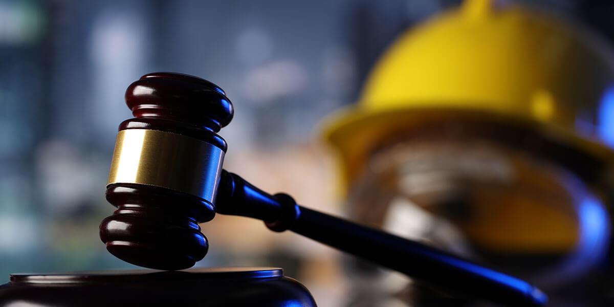 Labor law gavel