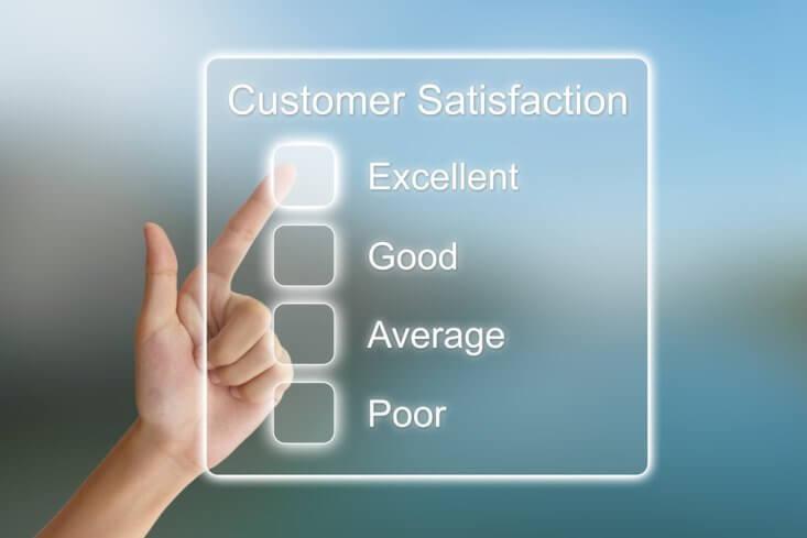 Customer satisfaction and job interview