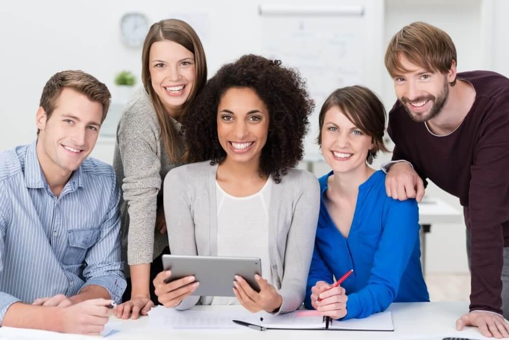Good benefits happy employees