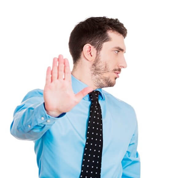 workforce management stop hand